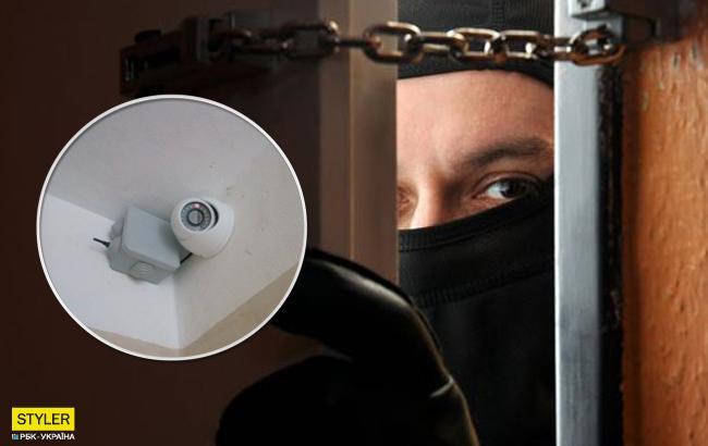 """""""Найтупіший злодій"""": в мережі показали київського домушника-невдаху"""