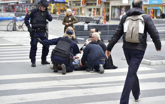 Фото: теракт в Стокгольме