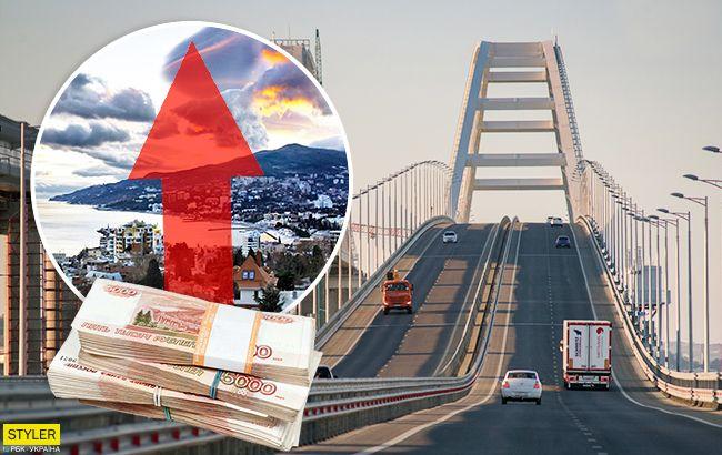 Цены растут как на дрожжах: Крымский мост снова стал источником проблем