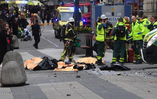 Фото: теракт в Швеции