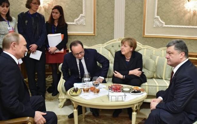 """Лідери """"нормандської четвірки"""" 2 березня можуть провести телефонну розмову"""