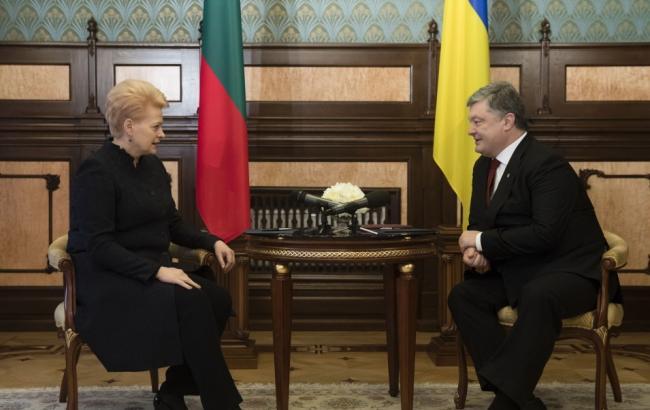 Украина иЛитва подписала соглашение осотрудничестве вобласти охраны окружающей среды