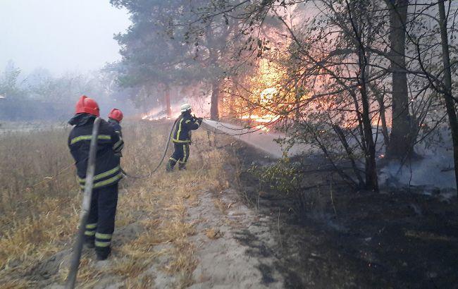 Пожары в Луганской области: в опасности более 30 населенных пунктов