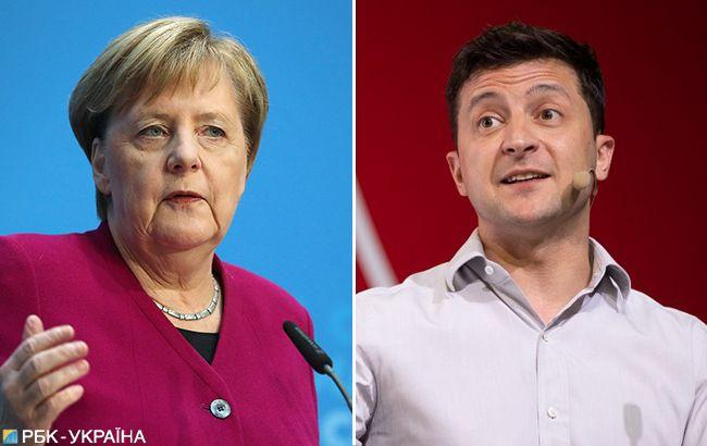 Зеленский и Меркель обсудили нормандский формат