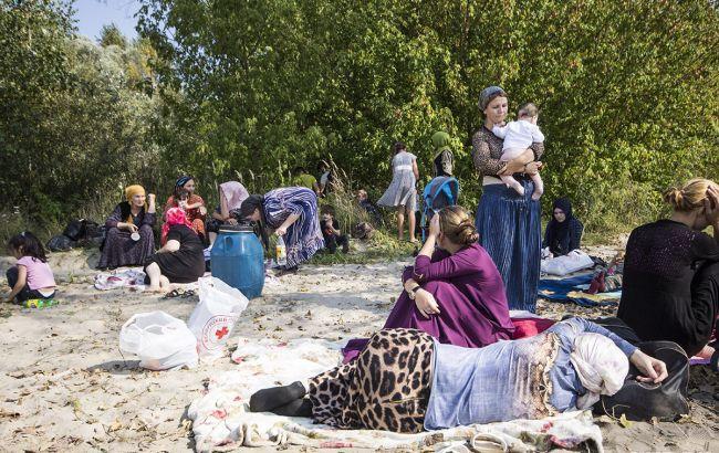 Біля білорусько-польського кордону протестують півтори сотні чеченців
