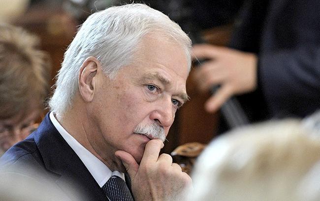 Грызлов покинул заседание ТКГ во время оглашения Украиной заявления по ситуации на Азове