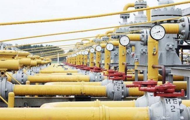 Кількість газу в ПСГ України скоротилося на 0,59% - до 9,482 млрд куб. м