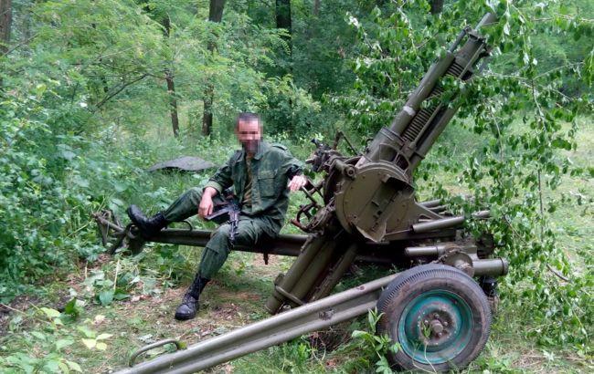 СБУ опублікувала відео допиту затриманого на Донбасі бойовика