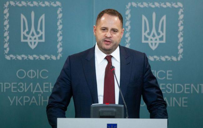 Ермак: план мира на Донбассе лежит на столе и ждет одобрения Россией