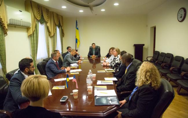 Фото: встреча НАБУ с посольством США (nabu.gov.ua)