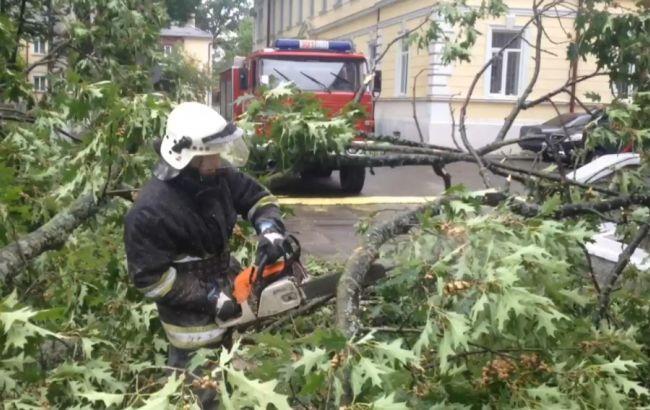 Фото: негода в Україні (прес-центр ДСНС)