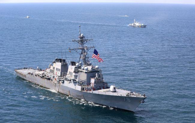 США провели военные учения в Черном море