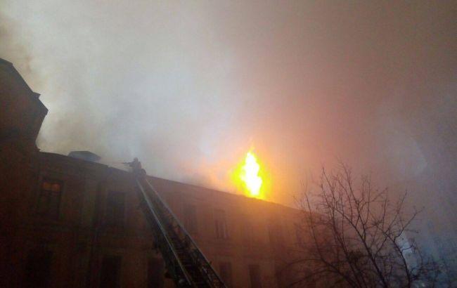 Спасатели ликвидировали пожар в правительственном квартале