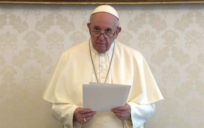Папа Римський підтримав право одностатевих пар на створення сім'ї
