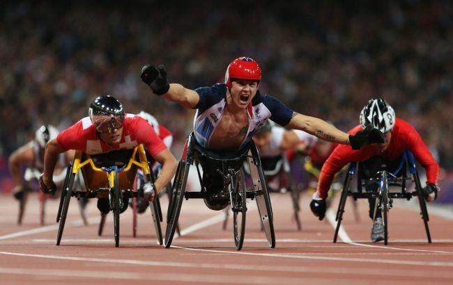 Фото: паралимпийцы