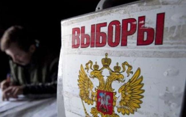 Фото: крымчане голосуют на участках без электроснабжения