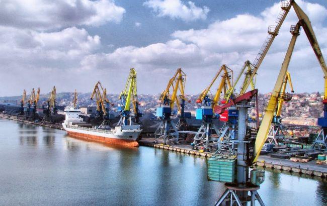 Фото: Мариупольский порт