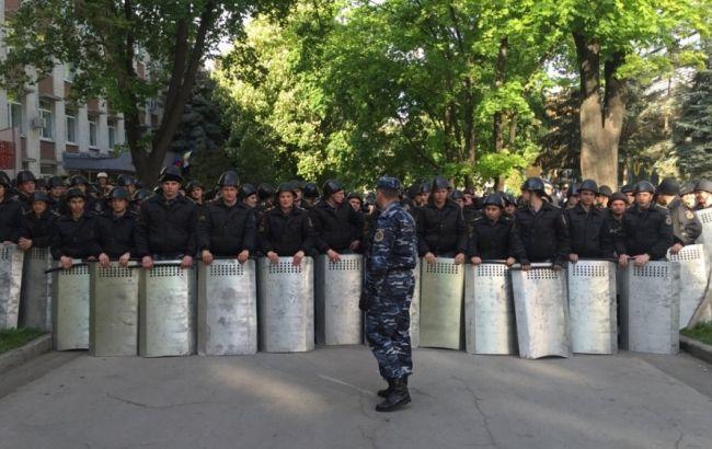 Фото: мітинг у Кишиневі закінчився зіткненнями з поліцією