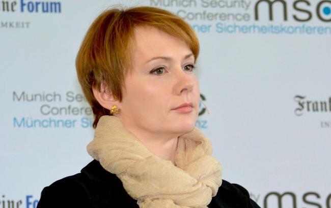 Фото: глава української делегації Олена Зеркаль