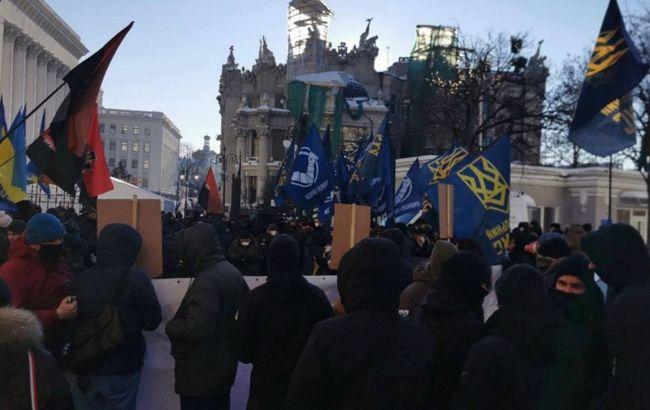 В Киеве прошел протест под Офисом президента:названы требования