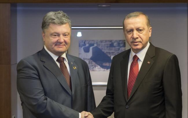 Фото: Порошенко і Ердоган проведуть Стратегічну раду в Києві