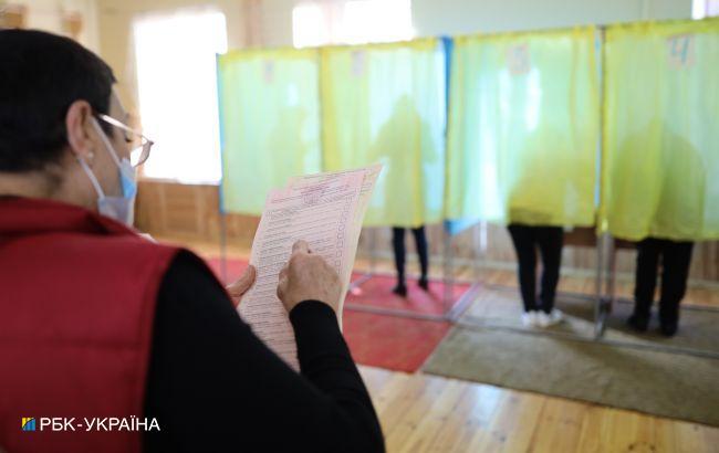 Зеленский, Разумков и Шмыгаль проголосовали на местных выборах