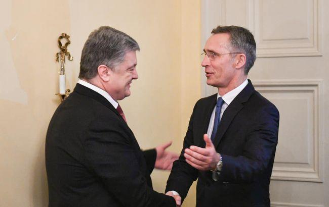 Порошенко і Столтенберг обговорили шляхи посилення співпраці України з НАТО