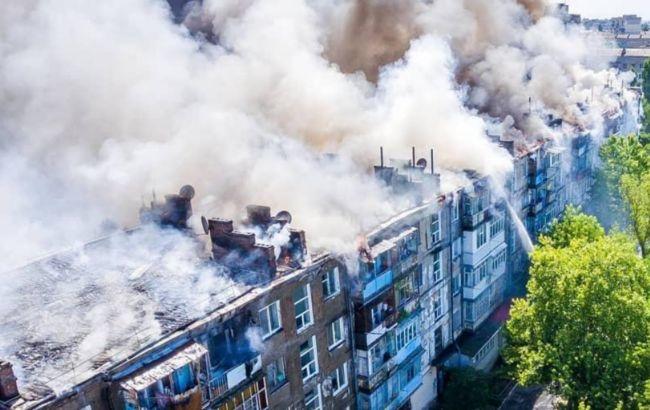 Полиция задержала причастного к пожару в Новой Каховке