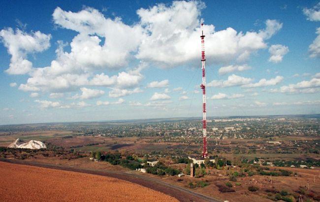 У Донецькій області офіційно відкрили відновлену телевежу на Карачуні