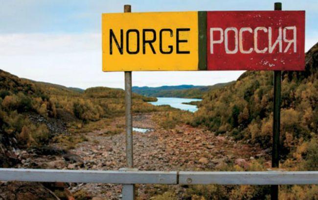 Фото: граница Норвегии и РФ