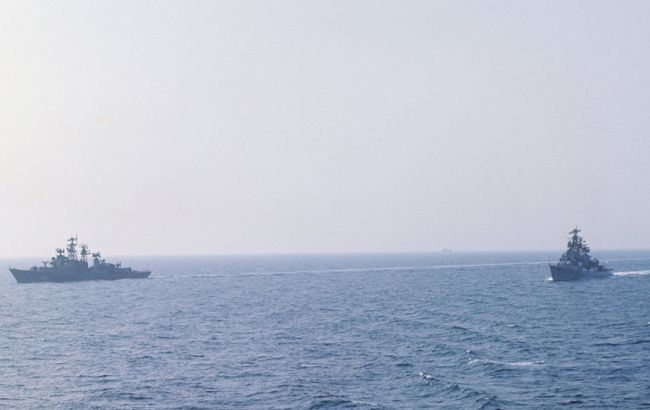 Корабли Черноморского флота направились  вКрым научения