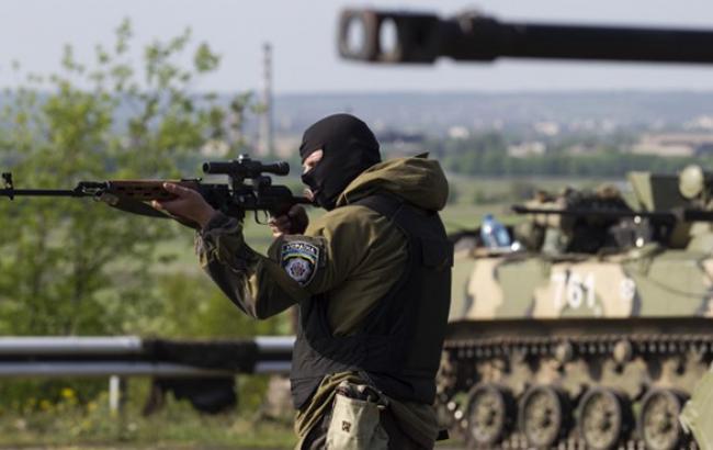 За добу збільшилася кількість обстрілів бойовиками позицій сил АТО, - Лисенко