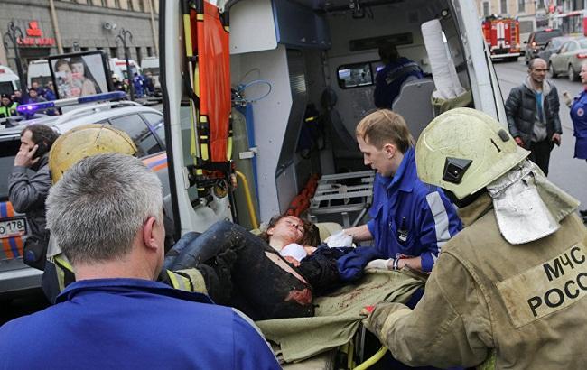 Фото: Теракт в Санкт-Петербурге