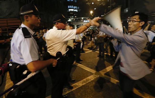 Лідерів гонконгських протестів не пустили на переговори в Пекін