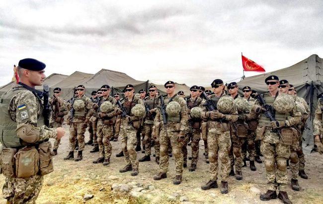 Українські військові беруть участь у військових навчаннях НАТО вГрузії