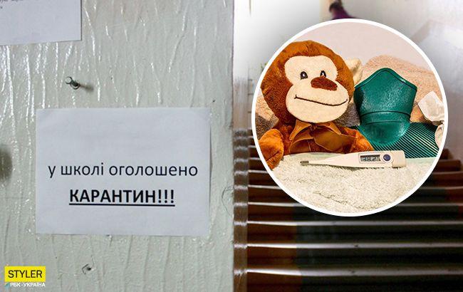 Грипп в Украине: в стране массово закрываются школы на карантин