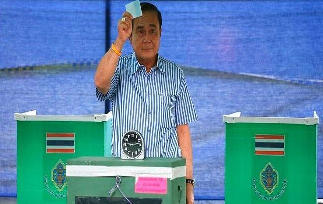 Фото: референдум в Таиланде