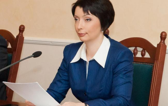 Фото: екс-міністр юстиції Олена Лукаш