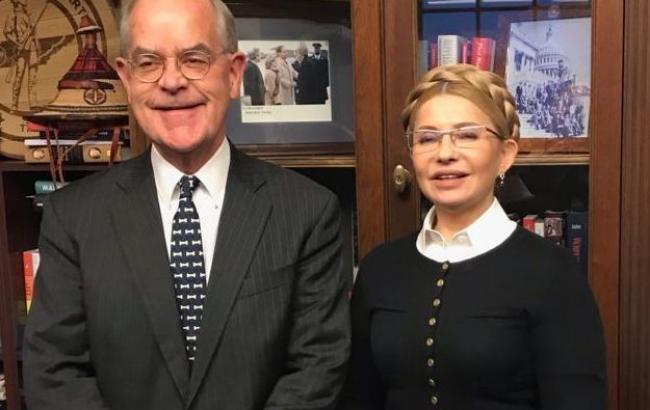 Тимошенко зустрілася з членами комітету Палати представників США зі збройних сил