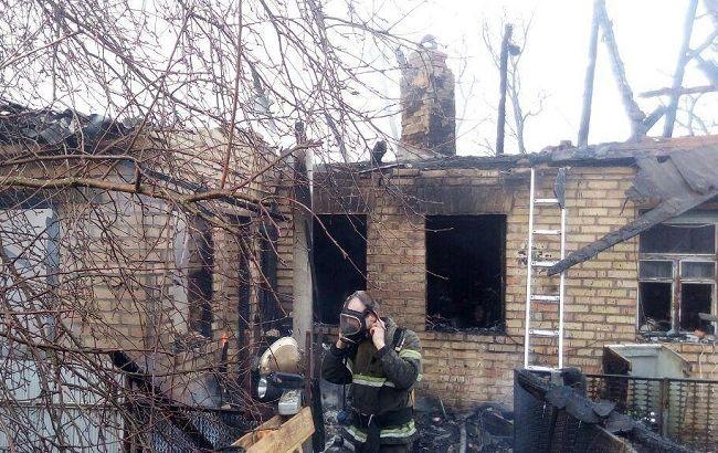 Пожар под Киевом: в огне погибли два ребенка