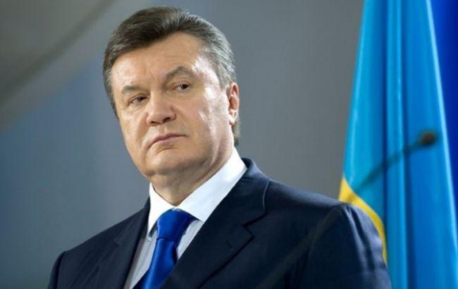 Фото: колишній президент України Віктор Янукович