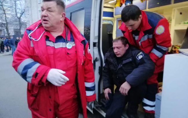 После столкновений в Черкассах в больницу обратились 22 правоохранителя