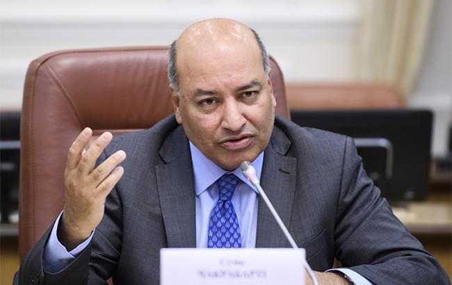 Фото: президент ЄБРР Сума Чакрабарті (kmu.gov.ua)