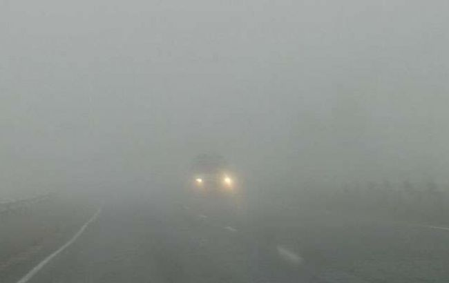 Фото: туман в Украине