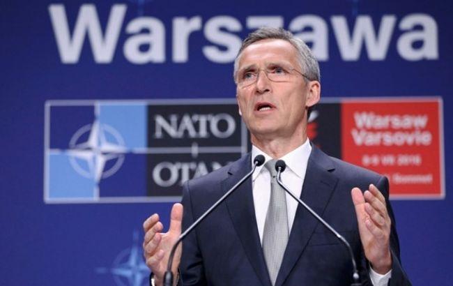Соглашения с Украиной позволят поднять вопрос членства в НАТО, - Столтенберг