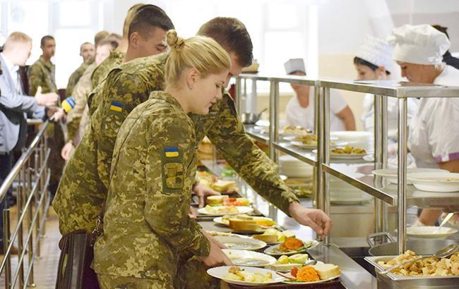 Фото: Військова їдальня (mil.gov.ua)