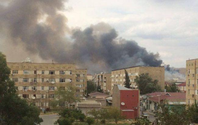 Фото: кількість постраждалих від вибухів в Азербайджані зросла