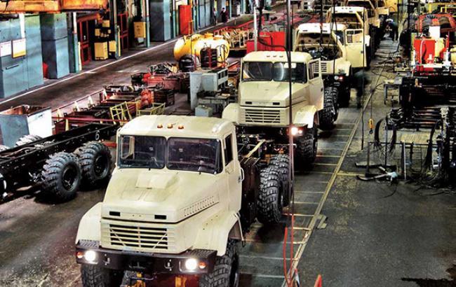 Производство грузовых авто в Украине в 2014 г. снизилось на 38,6% - до 1,2 тыс. штук, - Госстат