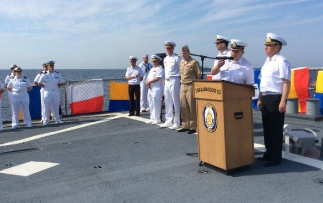 """Украинские ВМС начали подготовку к украинско-американским учениям """"Си Бриз-2015"""""""