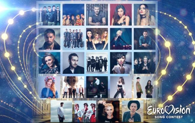 Определен порядок выступления полуфиналистов Нацотбора на Евровидение 2017